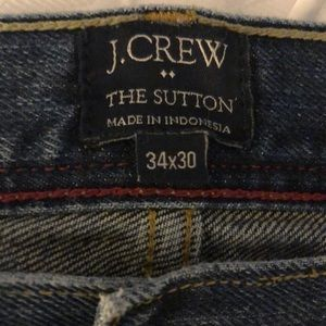 J. Crew Jeans - J. Crew Men's jeans The Sutton 34x30